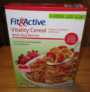 Fit & Active Vitality Cereal