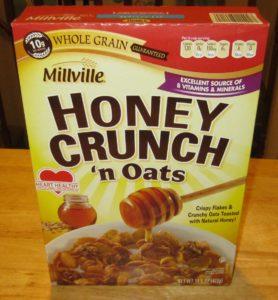 Millville Honey Crunch 'n Oats