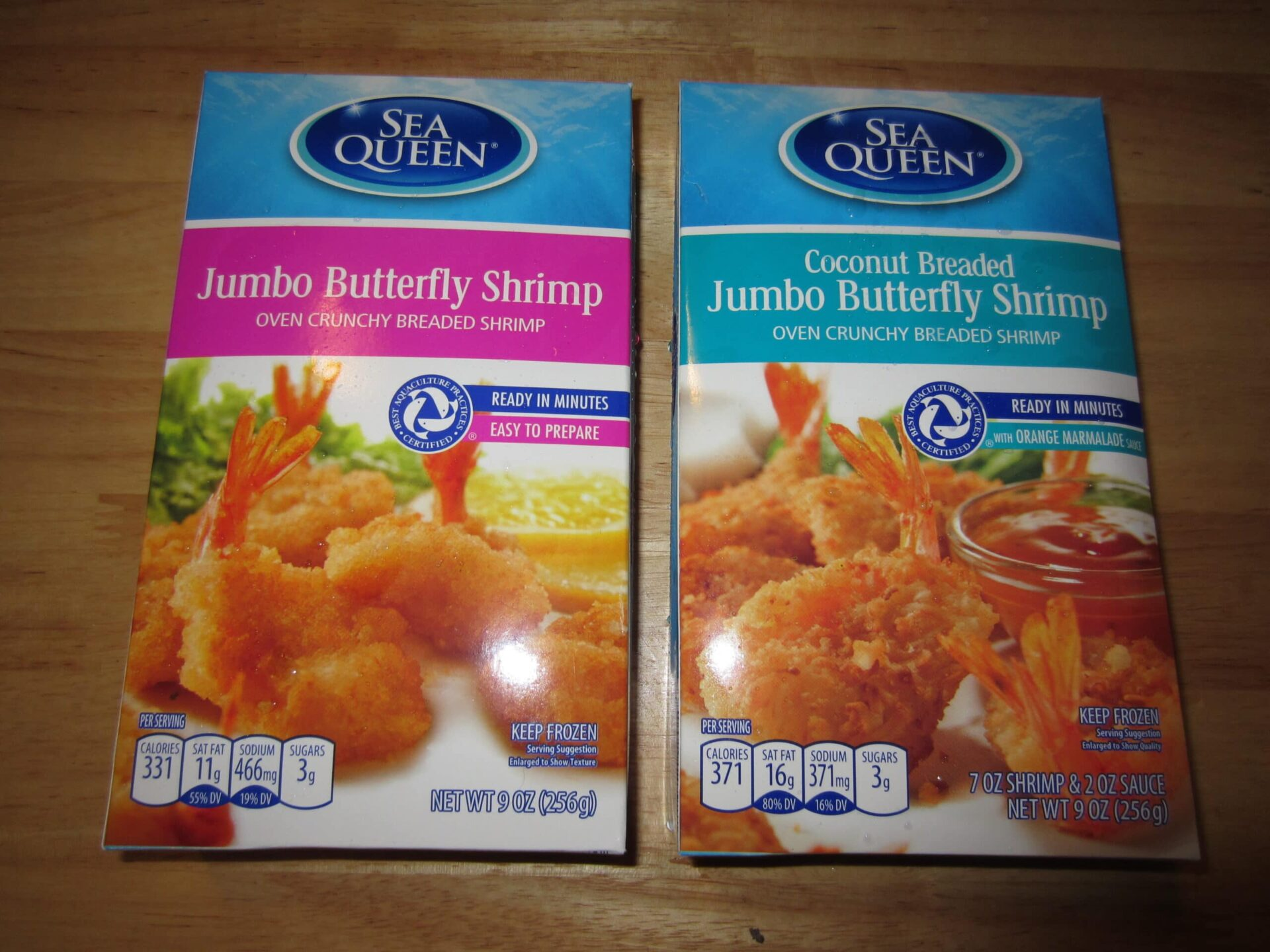 jumbo butterfly shrimp