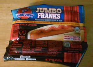 Hot Dog Sausages Aldi