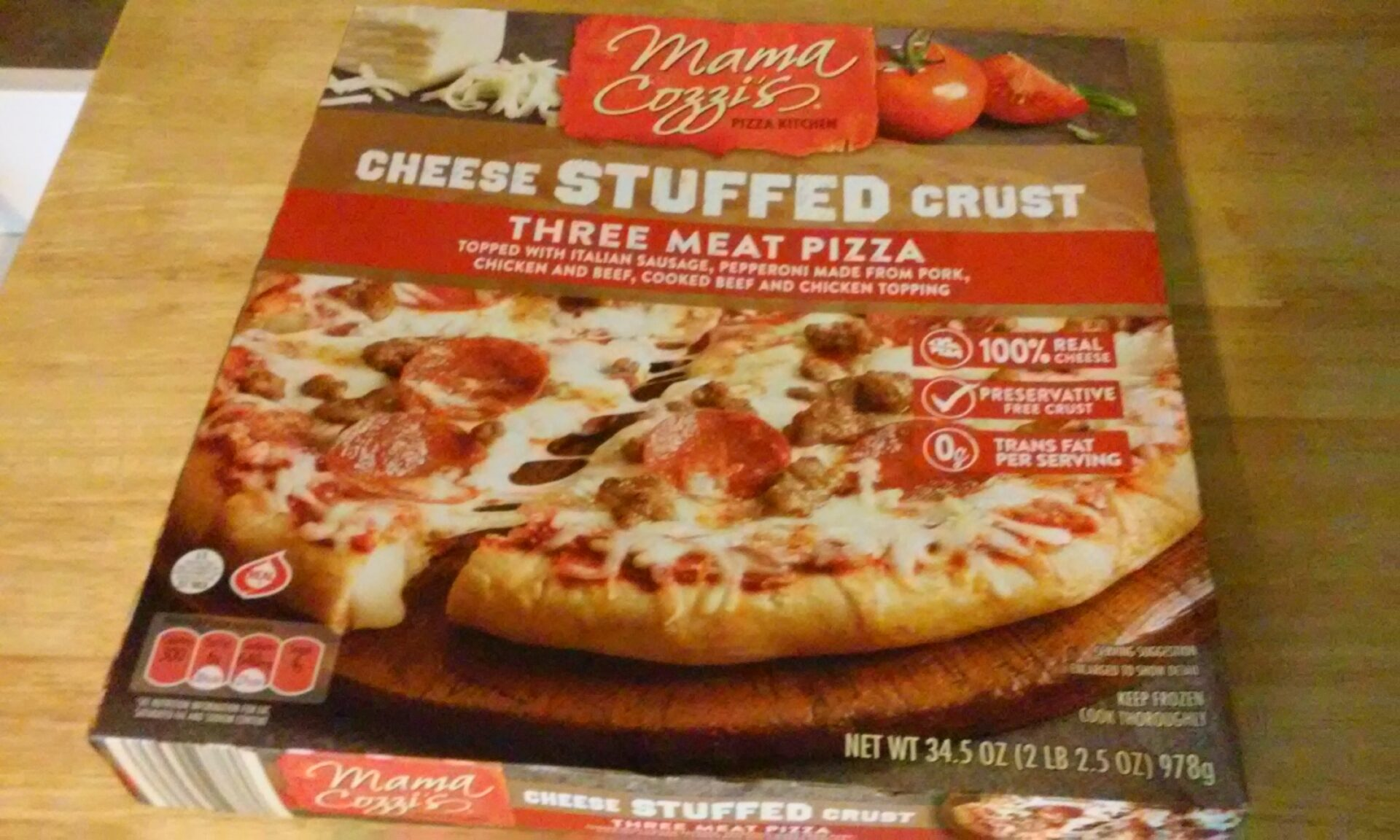 Mamma Cozzi Cheese Stuffed Crust