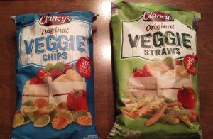 Clancys Original Veggie Chips and Veggie Straws