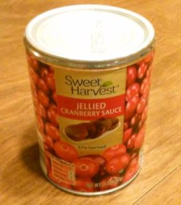 Sweet Harvest Jellied Cranberry Sauce