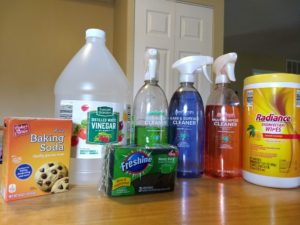 Household cleaning products, Aldi style