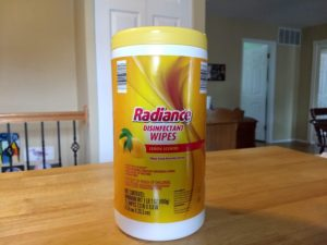 Radiance Disinfectant Wipes