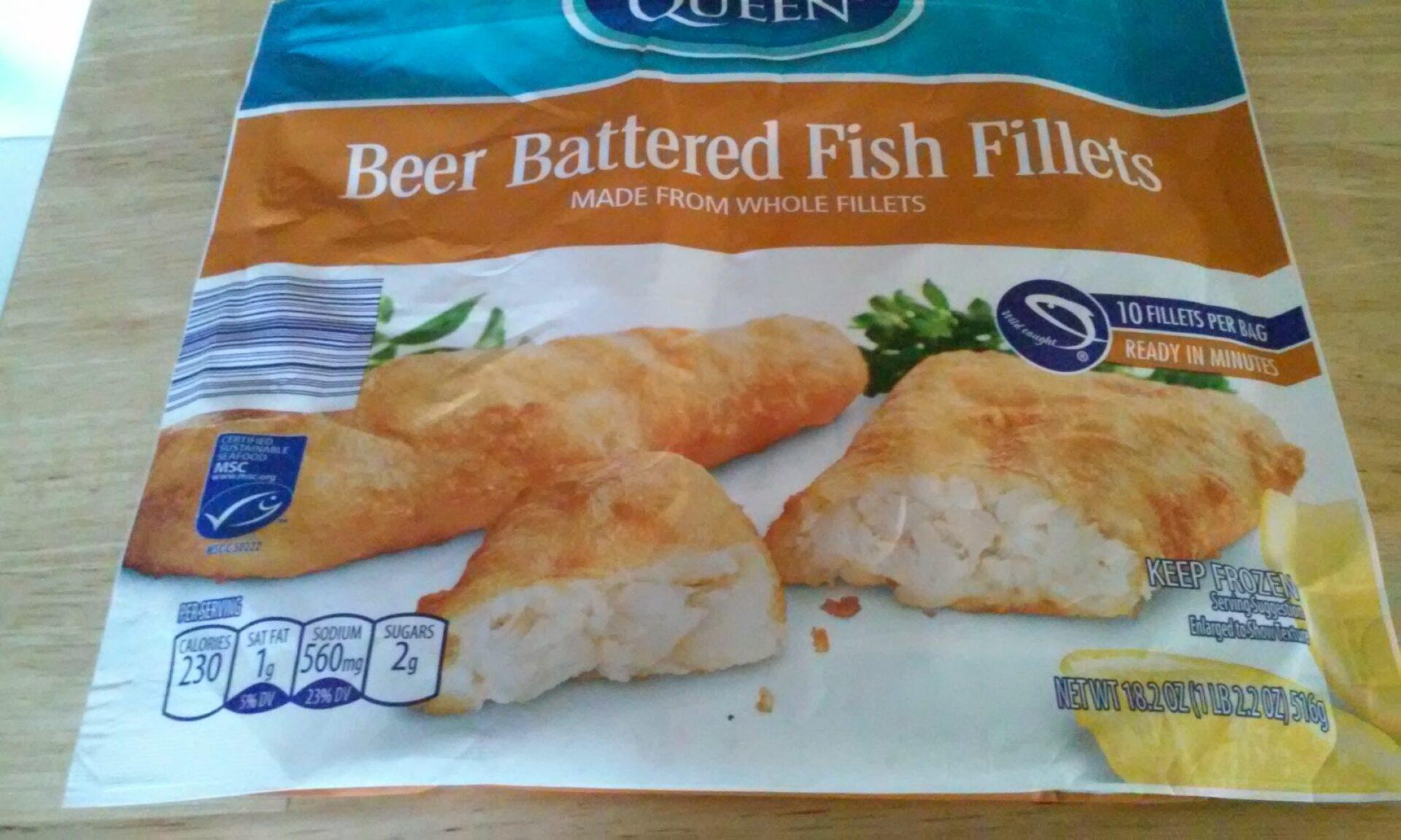 Sea Queen Beer Battered Fish Fillets | ALDI REVIEWER