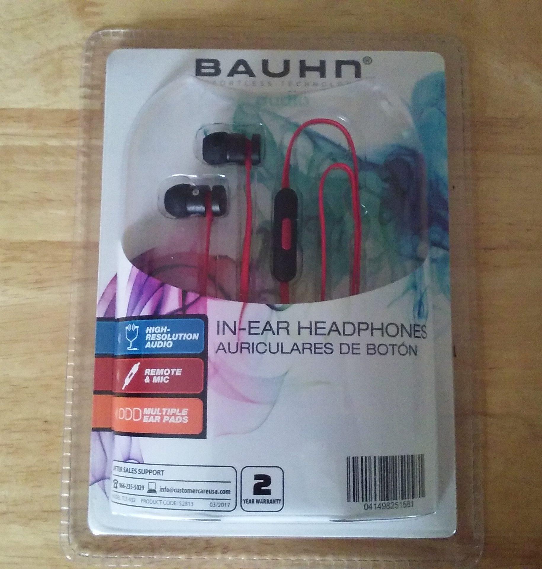 7a4e59faf99 Bauhn In-Ear Headphones | ALDI REVIEWER