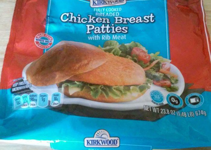 Kirkwood Fully Cooked Breaded Chicken Breast Patties