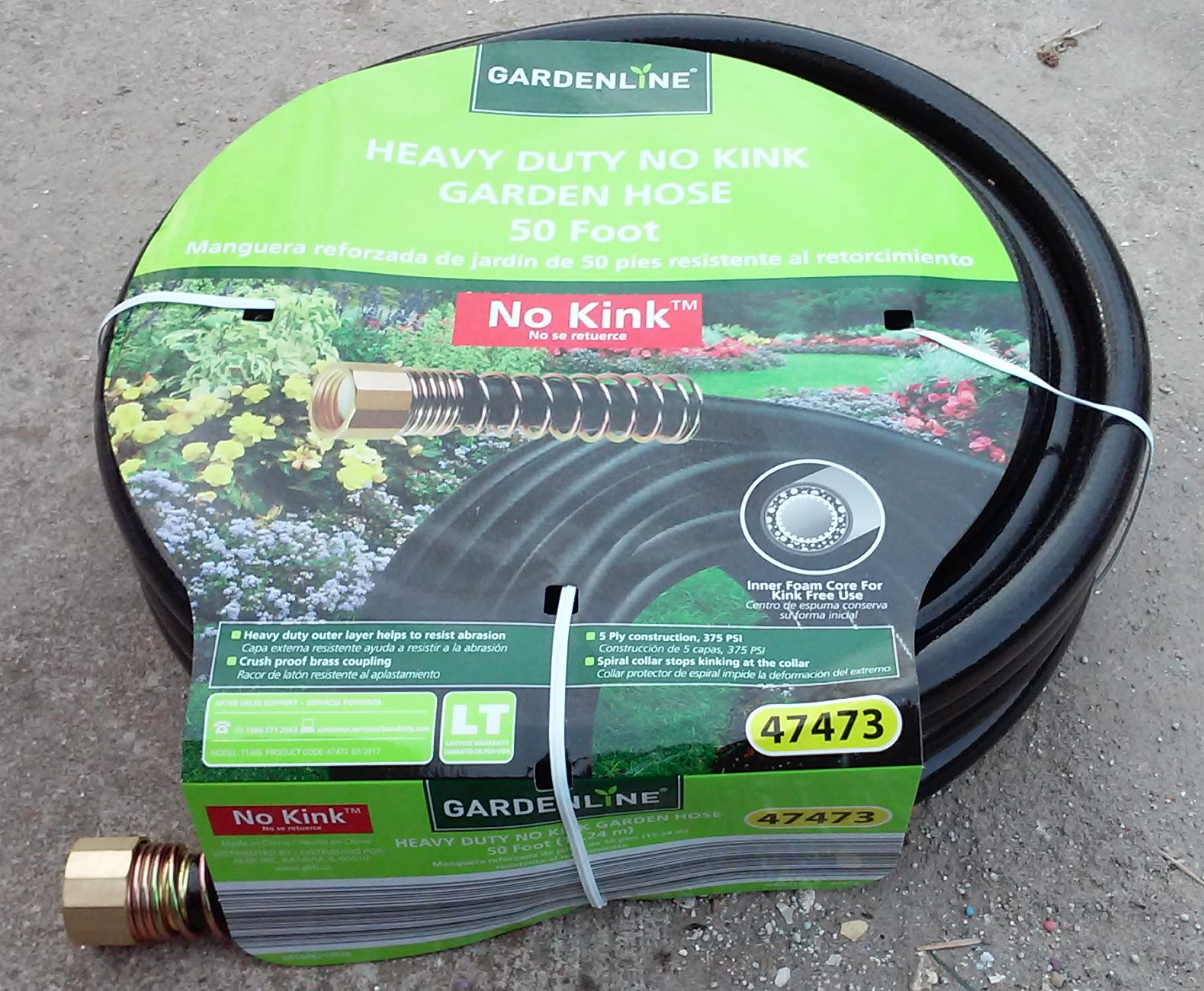 Gardenline Heavy Duty No Kink Garden Hose 50 Foot ALDI REVIEWER