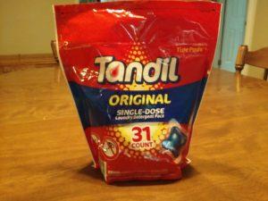 Tandil Original Single Dose Laundry Detergent Pacs