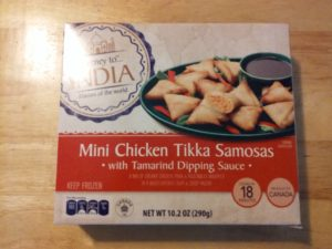 Journey to India Mini Chicken Tikka Samosas