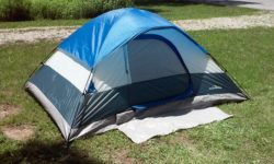 Adventuridge 4-Person 9' L x 7' W Dome Tent (front)