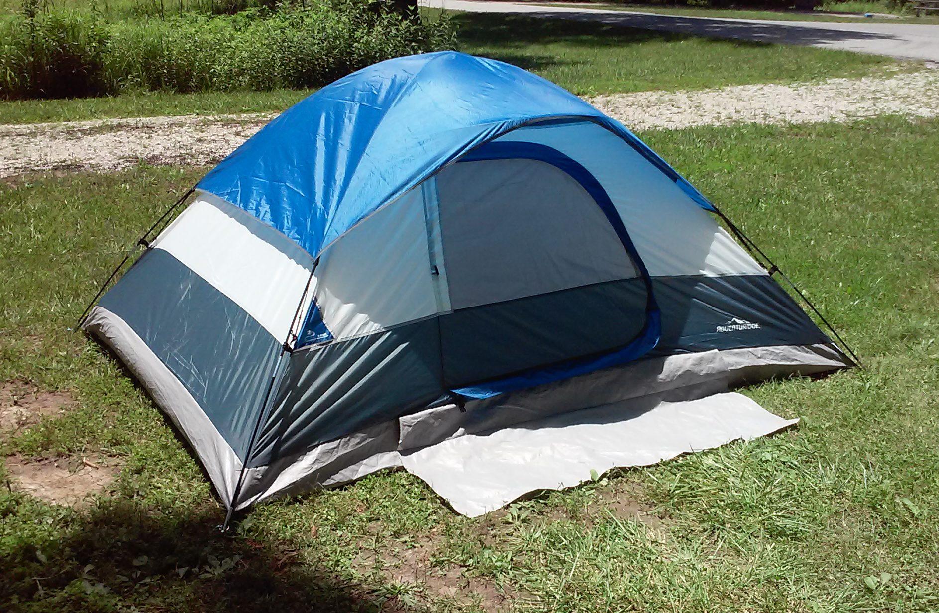 & Adventuridge 4-Person 9u0027 x 7u0027 Dome Tent | ALDI REVIEWER