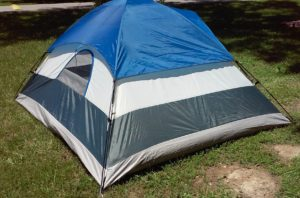 Adventuridge 4-Person 9' L x 7' W Dome Tent (back)