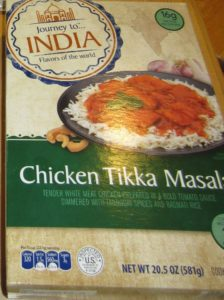 Journey to India Chicken Tikka Masala