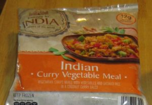 Journey to India Indian Curry Vegetable Meal