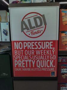 Aldi poster