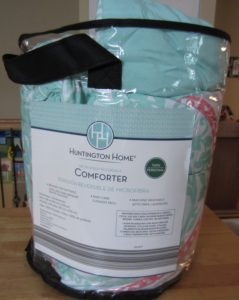 Huntington Home Microfiber Reversible Comforter