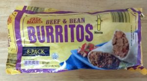 Casa Mamita Beef & Bean Burritos