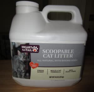 Heart to Tail Scoopable Cat Litter