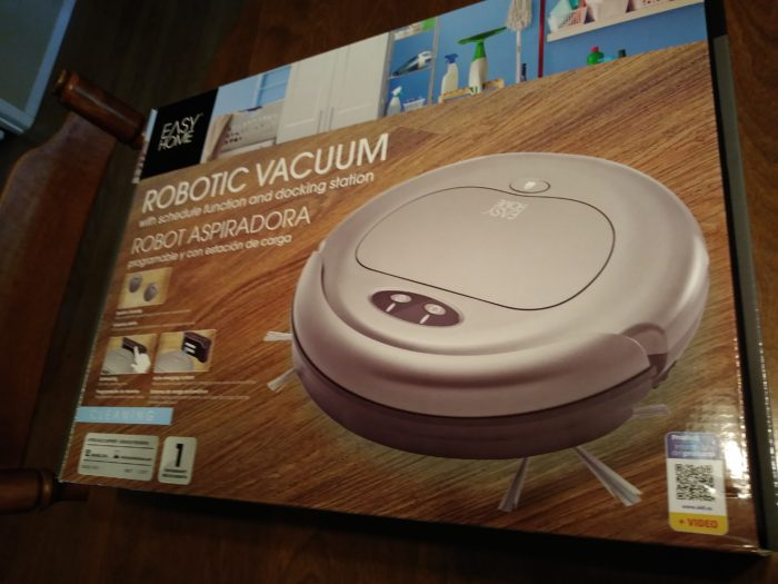 Easy Home Robotic Vacuum