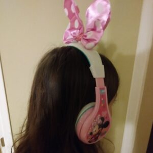 eKids licensed Minnie Mouse headphones