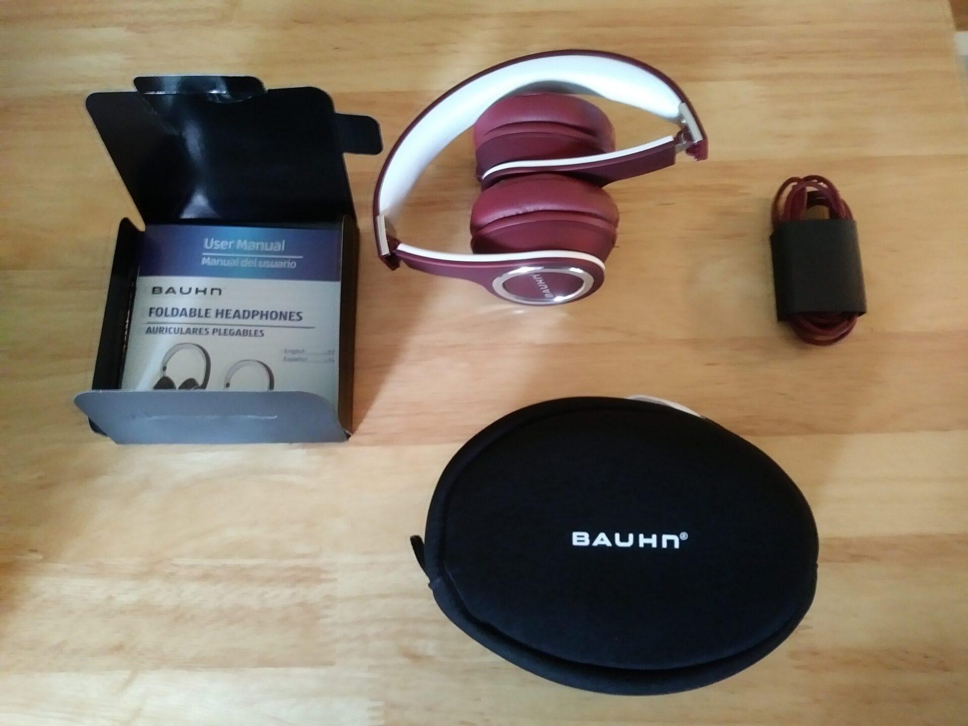 bauhn foldable headphones aldi reviewer. Black Bedroom Furniture Sets. Home Design Ideas
