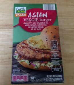 Earth Grown Vegan Asian Veggie Burger | ALDI REVIEWER