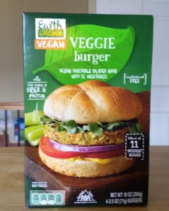 Earth Grown Vegan Veggie Burger