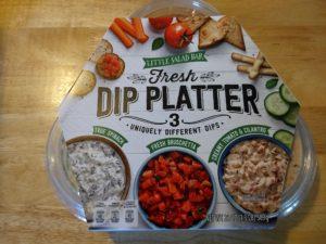 Little Salad Bar Fresh Dip Platter