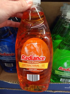 Radiance Antibacterial Citrus Ultra Concentrated Dishwashing Liquid