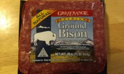 Great Range Brand Premium Ground Bison