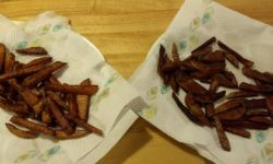 Home-made French Fries