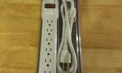 Easy Home 6-Outlet Surge Protector