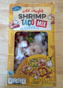 Sea Queen Shrimp Fajita Mix and Shrimp Taco Mix