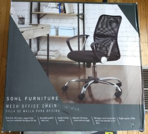 SOHL Furniture Mesh Office Chair