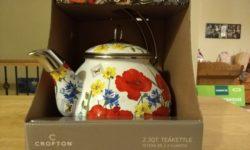 Crofton 2.3-Quart Teakettle