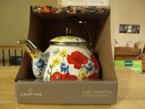 Crofton 2.3-Quart Teakettle