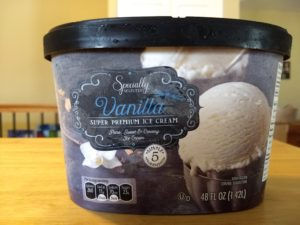 Specially Selected Super Premium Vanilla Ice Cream