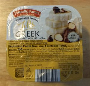 Friendly Farms Tilts Bonkers for Bananas Greek Yogurt