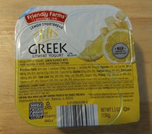 Tilts Lemon Shortbread Greek Lowfat Yogurt