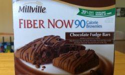 Millville Fiber Now 90 Calorie Chocolate Fudge Bars