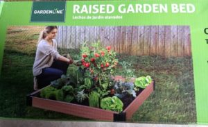 Gardenline Raised Garden Bed