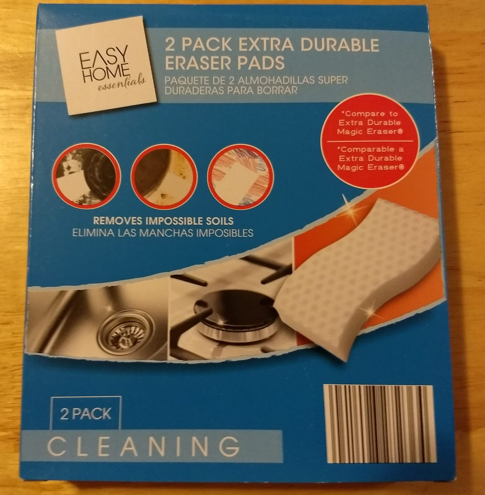 Easy Home Essentials Extra Durable Eraser Pads | ALDI REVIEWER