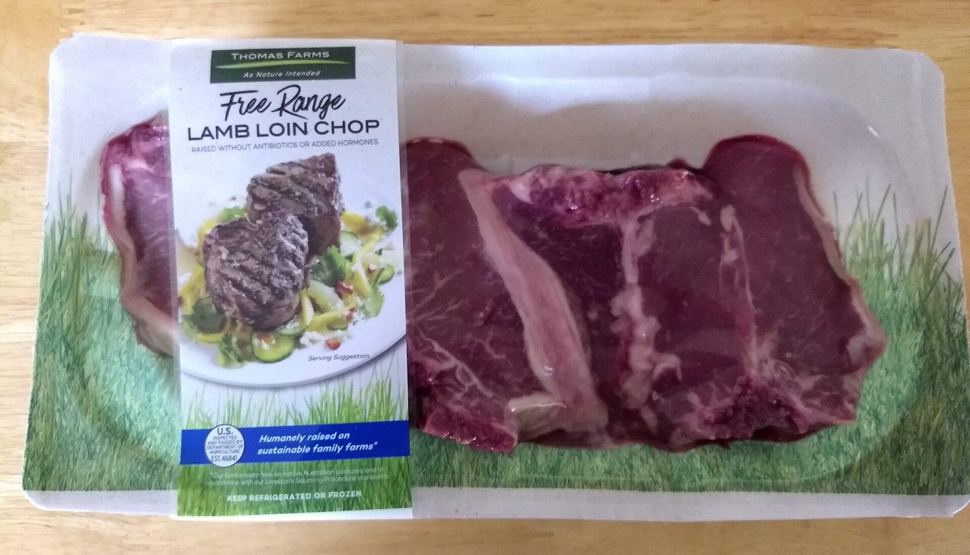 Thomas Farms Free Range Lamb Loin Chop | ALDI REVIEWER