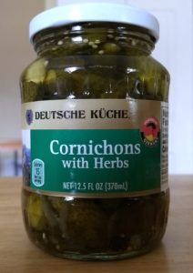 Deutsche Kuche Cornichons with Herbs