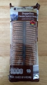 Deutsche Kuche Doppelino Chocolate Sandwich Biscuits