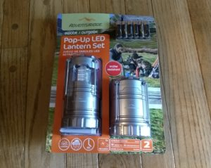 Adventuridge Pop-Up LED Lantern Set