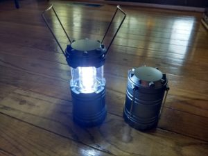 Adventuridge Pop-Up LED Lantern Set