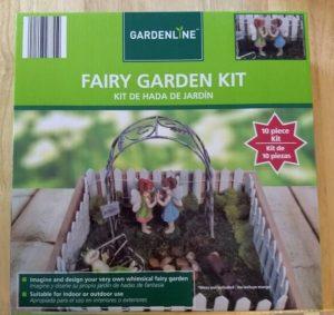 Gardenline Fairy Garden Kit